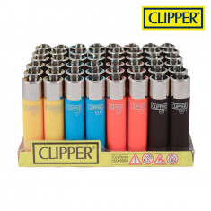 Clipper Round Soft Solid Colour Lighter