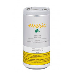Everie - Lemon & Lime CBD Sparkling Water - 1 x 269ml